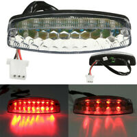 LED Tail light Brake Lamp for Motorcycle 50cc 125cc Off-Road Go Kart ATVs Quads