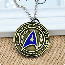 New Arrivals Star Trek Round Alloy Necklace Pendant  Cosplay Accessories