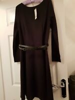 Warehouse Black Dress Size 14