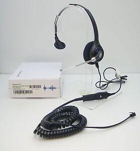 P251 Voice Tube Headset for Polycom Avaya Nortel Toshiba NEC Aspire Hybrex Ascom