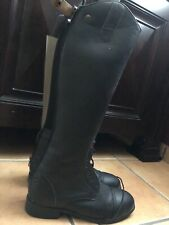 Devon Aire English Horse Riding Boot Black English Boot Size 9 New