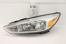 USED OEM HEAD LIGHT HEADLIGHT LAMP HEADLAMP FORD FOCUS 15-18 TITANIUM chip mount