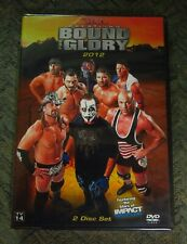 TNA BOUND FOR GLORY 2012 2 DVD BRAND NEW SEALED IMPACT WWE NXT ROH OOP WCW ECW