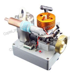 Mini Methanol Engine Model DIY 18-Grade Engine Generator Motor In-Buit Igniter