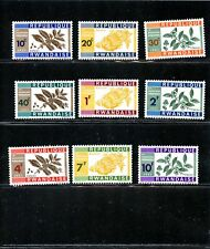 LOT 73166 AFRICA RWANDA UNUSED NO GUM SCOTT # 27 - 35