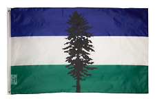 PringCor 2x3 Foot Cascadia Movement Flag 100% Polyester Banner Header Washington