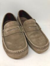 Clarks brown leather penny loafers Mens moccasins mocs 10.5 M Slip On Sneakers