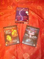 KAP DER ANGST BOX  SCHUBER MITCHUM PECK DE NIRO ORIG.+ REMAKE 3 X DVD WIE NEU !!