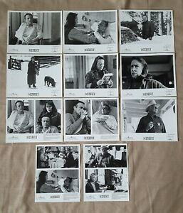 1990 Misery movie Steven King Press kit lot of 11 different 8 x 10 photos