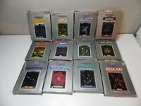 Vectrex 3000 Boxed Games, Manuals, Overlays and Cartridges