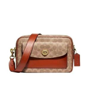 Coach Cassie Camera Bag in Signature Canvas
