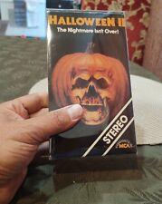 Halloween 2 VHS Horror MCA Videocassette Michael Myers Rare