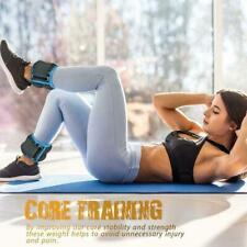 1Pair Ankle / Wrist Weights For Cuff/ Leg Sandbag Running Fitness Equipment I3D0