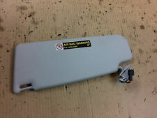 VW JETTA GOLF JETTA MK4 99-05 OEM SUNVISOR MIRROR GREY GRAY R RH RIGHT PASSENGER