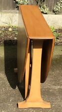 SUPERB RETRO ERCOL LARGE DROPLEAF DINING TABLE VERY CLEAN CONDITION WE DELIVER