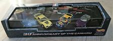 NEW 1997 Hot Wheels Collectibles 30th Anniversary of the Chevy Camaro 4-Car Set