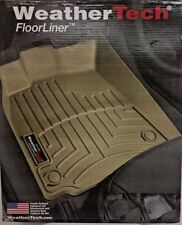 456071 WEATHERTECH FLOORLINER FOR 2014-2019 CHEVROLET/GMC/CADILLAC 1ST ROW TAN