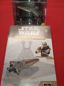 Star Wars Vaisseau le Star destroyer classe venator Cody + fascicule NEUF !!!