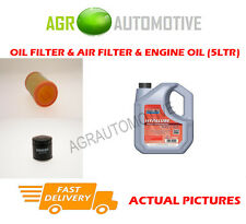 PETROL OIL AIR FILTER KIT + FS 5W40 OIL FOR RENAULT CLIO 1.2 58 BHP 1998-10