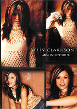 Kelly Clarkson ~ Miss Independent ~ DVD ~ FREE Shipping USA