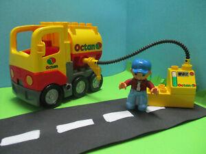 (GB22/3) Lego Duplo Tankl Aster Réservoir Véhicule Utilitaire Pétrolier