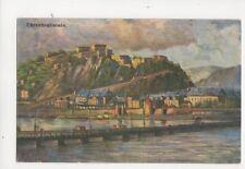 Ehrenbreitstein Vintage Postcard Germany 086b