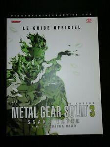 Guide officiel - PIGGYBACK - Metal Gear Solid 3 - Snake Eater - VF