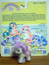 LITTLE HONEY PIE W/ CARD Teeny Tiny Baby Ponies My Little Pony G1 Vintage 1990