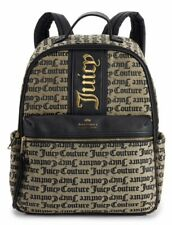 JUICY COUTURE Signature Center Stage Logo Backpack School Bag Travel NWT