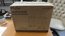 Olafus Outdoor Bluetooth Speakers, 2 Pack 25W Wireless 2 Pack FACTORY SEALED BOX