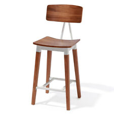 "NEW! ABBOTT CONTEMPORARY WOOD/STEEL BARSTOOL - 30"" SEAT HEIGHT BAR STOOL CHAIR"