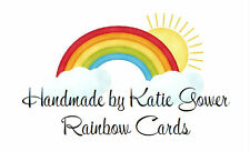 260 Personalised Labels Rainbow / Address / handmade by / cards 269