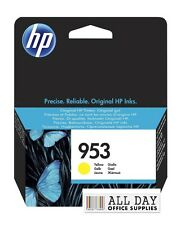 Genuine HP 953 Yellow ink cartridge (F6U14AE) for HP Officejet Pro VAT included