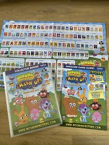Moshi Monsters Mash Up Series 1 Complete Card Set With Collectors Binder Rare