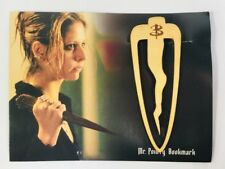 BUFFY THE VAMPIRE SLAYER Mr. Pointy Wood Bookmark Loot Crate EXCLUSIVE Mythical