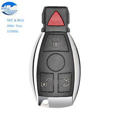 Smart Remote Key With 4 Button 315MHz Fob for Mercedes-Benz BAG & NEC 2000+ Year