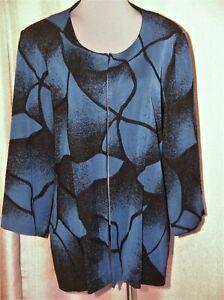 MISOOK 3X JACKET BLACK BLUE  NAVY lovely jacket versatile color