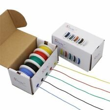 30AWG 50m Flexible Silicone Wire 5 Color Box 1 Electronic Stranding Tinned Cable