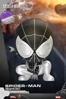 Hot Toys COSB619 COSBABY Marvel Spider-Man NEGATIVE Suit Bobble-Head Doll Gifts