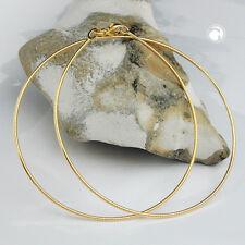 Neu Damen Halsreif Collier Schlangenkette echt Gold 9 Karat 375 Gelbgold 45 cm