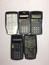 Lot of 3 -Texas Instruments Ti-30Xiis Ti-30Xa Ti 36A Solar Scientific Calculator