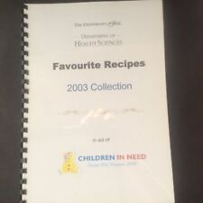 The university of hull department of health sciences favourite recipes 2003