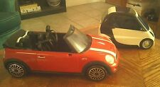 Ken's Mini Cooper, Moxie Girlz Art-Titude wanna be - two doll cars together