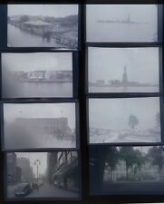 Lot Of 30 Vintage Photograph Negatives City Views Mom Child MORE 1940s