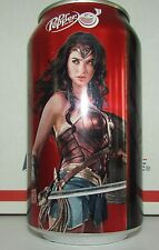 Limited Dr. Pepper Cherry Wonder Woman empty 12oz aluminum soda pop can