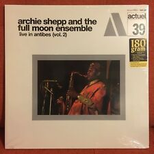 ARCHIE SHEPP and the FULL MOON ENSEMBLE Live in Antibes (Vol. 2) LP 180 gram new