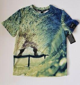 New Marvel X Bo Bridges Boys T-Shirt Size XS (4-5)