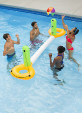 Swimming Pool Inflatable Above Ground & Inground Floating Volleyball Net Game