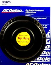"ACDelco Cap Style Oil Filter Wrench 93MM 36 Flutes 3/8""Dr 30125 Made In The USA"