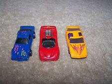 LOT OF 3 DIE-CAST MATTEL HOT WHEELS DIE-CAST CARS